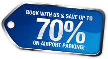 Save up to 70% on parking with Book2Park.com